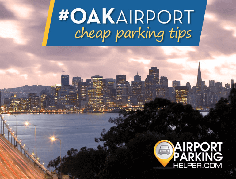 oakland hourly airport parking logo