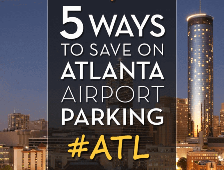 atlanta the parking spot 2 airport parking logo